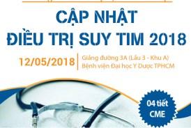(12/05/2018) CME: Cập nhật điều trị Suy tim 2018